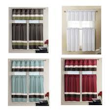 Red Kitchen Curtain Sets White And Burgundy Kitchen Curtains Cliff Kitchen