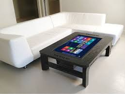 ... Giant Touchscreen Coolest Coffee Table Gadgets Rectangle Shapes Huge  Large Tremendous Computer Fancy Funky ...