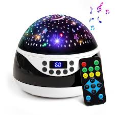 5 Min Timer With Music 2018 Newest Baby Night Light Ananbros Remote Control Star Projector