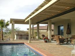 wood patio with pool. Wood Patio Ideas Lattice Cover With Retractable Shade Screen Palm  Desert Ca Step . Pool