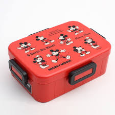 do not grasp four points of lock lunch box 650 ml mickey mouse disney lunch box