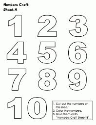 Coloring Page : 1 10 Coloring Pages Number Page 1 10 Coloring ...