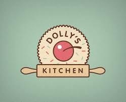 kitchen design logo. dollyu0027s kitchen logo design