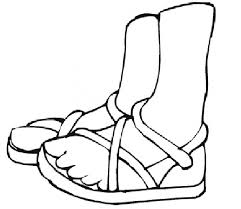 Small Picture Coloring Pages of Feet Coloring Pages