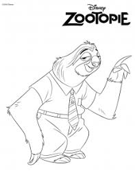 Free printable coloring pages for a variety of themes that you can print out and color. Zootopia Free Printable Coloring Pages For Kids