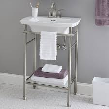 edgemere console sink legs american standard throughout prepare 0