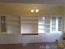 family room 2 pac gloss finish unit