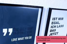 Poster-Weisheiten Von Artboxone | Meinekleinewohnung.de