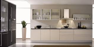 Small Picture Exellent Modern Kitchen Glass Doors With Top Shelve And Cabinets N