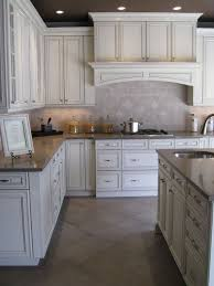 cool antique white glazed kitchen cabinets best ideas about white glazed cabinets on glazed