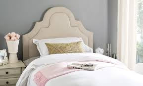 Kerstin Arched Upholstered Panel Headboard