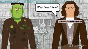 Frankenstein Character Chart Who Is The Monster In Frankenstein Character Traits Analysis