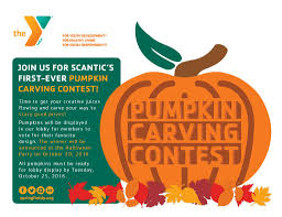 Pumpkin Carving Contest Flyers Scantic Valley Ymca Pumpkin Carving Contestymca