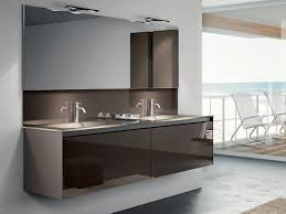 appealing wall hung double vanity and bathroom grey vanity units pavillion grey vanity unit with