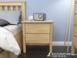 Natural Bedroom Furniture Dandenong Bedside Tables Modern Timber B2c Furniture