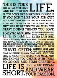 This Is Your Life Quote Inspiration This Is Your Life Do What You Love About Me Pinterest