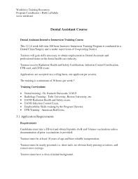 Cover Letter Example For Dental Assistant Invest Wight