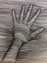 3d hand drawing