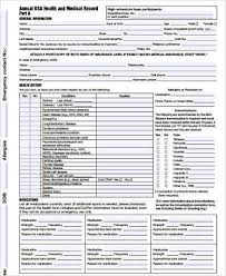 Boy Scout Medical Form Amazing Sample Boy Scout Physical Forms 48 Free Documents In Word PDF