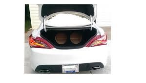 zenclosure 12 dual round subwoofer box 2013 2014 genesis coupe zenclosure 12 dual round subwoofer box 2010 2016 genesis coupe
