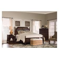 Teagan Cane Bed Queen Walnut - Powell Company