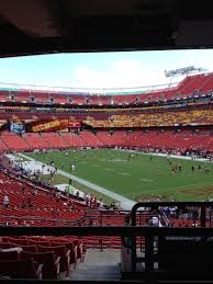 It Feels Good To Be Back At Fedex Field Hail To The