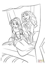 Small Picture Mother Gothel Has Brought Rapunzel Back to the Tower coloring page