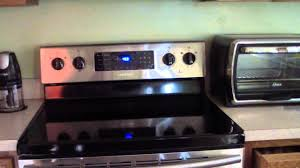 samsung glass top stove. samsung fe-r300 electric range convection oven samsung glass top stove h