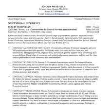 Federal Government Job Resume Examples Cover Letter Letsdeliver Co