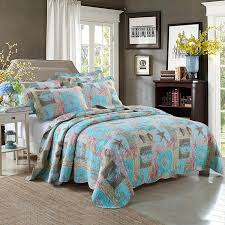beach themed comforter sets brilliant bedroom quilt patterns throughout 19