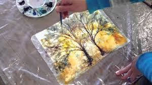 how to batik style watercolor painting technique with kozo washi you