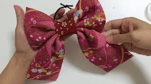 七五三髪飾りの用リボンの作り方6選和装ハイカラさんリボン他