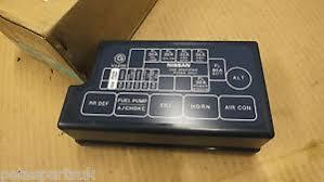 nissan navara fuses & fuse boxes ebay Nissan Elgrand Fuse Box Diagram genuine nissan navara d22 97 04 new fusebox cover 24382 vj260 n5 nissan elgrand e51 fuse box diagram