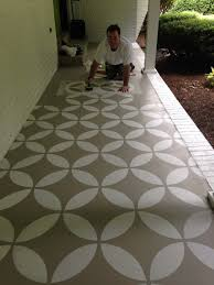 floor paint ideasConcrete Patio Floor Paint Ideas  yard  Pinterest  Floor