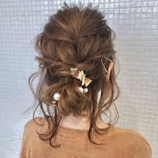 髪型別簡単ヘアアレンジやり方入門編かわいい髪型講座開講です