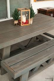 homemade outdoor furniture ideas. best 25 homemade outdoor furniture ideas on pinterest table plans picnic and diy farmhouse d