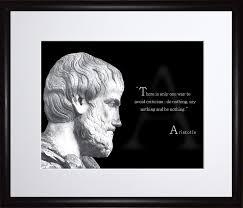 Amazoncom Aristotle Photo Picture Poster Framed Quotethere Is