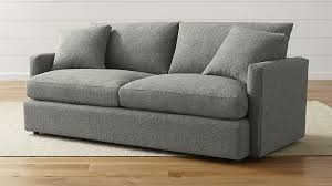 Lounge II Comfortable Sofa Reviews Crate and Barrel