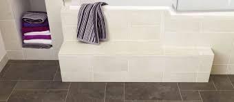 vinyl bathroom flooring in grey