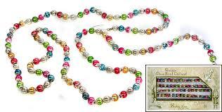 small glass bead garland