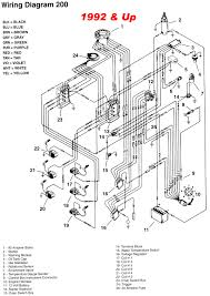 mercury outboard and l v and gearcase faq electrical system wiring diagram for 92up fishing motor