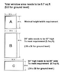 I Regress On Egress Bedroom Windows Emergency Escape And Rescue Cool Egress Requirements For Bedroom Windows