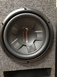 pioneer 10 inch subwoofer. new pioneer champion series 10inch subs in box ! 10 inch subwoofer b