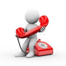 Mann 3d, der Telefon hält stock abbildung. Illustration von mann - 55704801