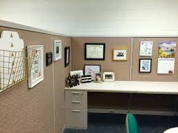 Formidable My Cubicle Decor and organization Going for A White Black Gold  About Office Cubicle Decorating Ideas