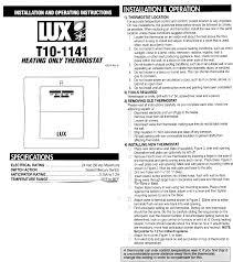 lux thermostat wiring diagram lux wiring diagrams online lux thermostat wiring solidfonts description lux 1500 thermostat wiring diagram