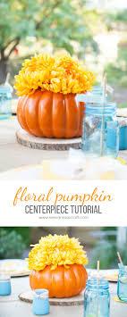PumpkinCenterpiece copy. Here's an easy pumpkin centerpiece ...