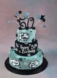 34 Unique 50th Birthday Cake Ideas With Images 50th Birthday