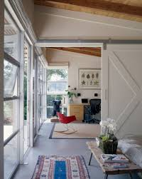 contemporary home office sliding barn. House · Barn Doors Used To Divide Large Spaces Contemporary Home OfficesContemporary DecorSliding Office Sliding D