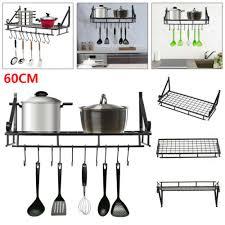 uk wall mounted kitchen hanging pan